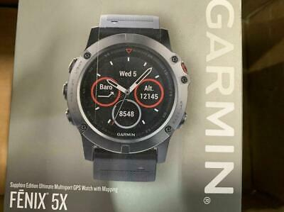 Garmin Fenix 5X with Mapping | Sapphire - used----