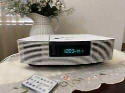 Bose Wave Radio CD Player Stereo Alarm Clock W/ Remote AWRC1-P