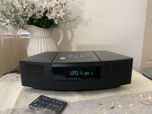 Bose Wave Radio CD Player Stereo Alarm Clock W/ Remote AWRC1G