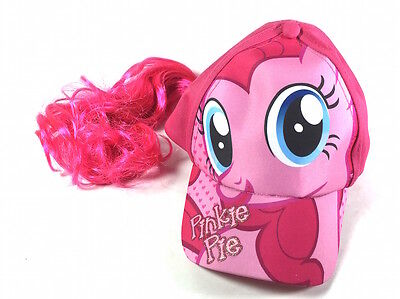 New My Little Pony Pinkie Pie Girls Baseball Cap with Hair Wig Costume Hat Pink - My Little Pony Pinkie Pie Costume