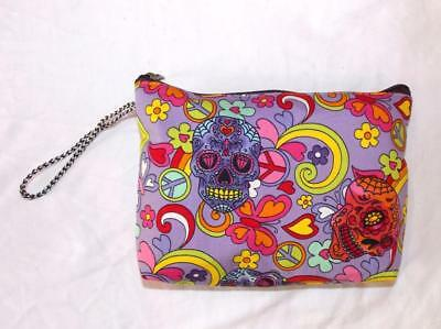 Candy Skull Make-up (FAIR TRADE WASH BAG CANDY SKULL MAKE UP CASE FROM MARRAKESH MOROCCO)
