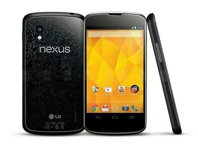 LG Nexus 4 8Gb Black LG-E960 (Unlocked) - GSM World Phone - M-FR