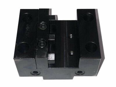 New Mazak Od Turret Tool Block 80mm X 45mm Bolt Spacing 40mm X 10mm Key