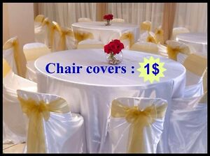 CHAIR COVER 1$ For Hire Blacktown Blacktown Area Preview