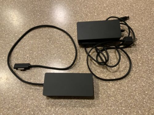 Microsoft Surface Dock Model 1661 Docking Station With AC Adapter Model 1749