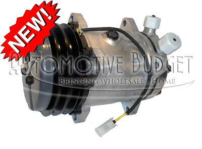 Ac Compressor Wclutch For Volvo Wheel Loaders - 2gr 132mm 24v - New