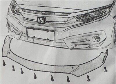 CARBON paint Frontspoiler front splitter für Mercedes GLC flaps diffusor lippe