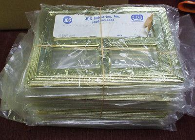 Trophy Parts 42pcs Plastic Frame For Plaques Jds Abf68