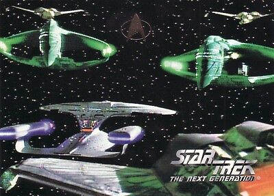 Skybox Star Trek TNG Season 3 Ultra Rare 2 of 3 Oversized Promo Card