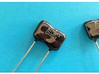 SANG 390PF Silver Mica Capacitors Kondensator 10 pcs
