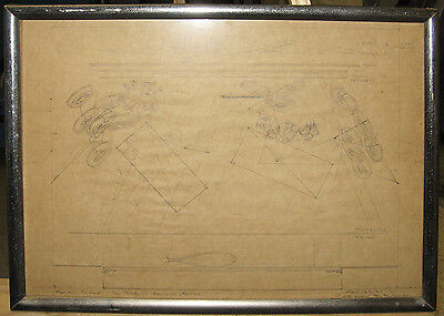 Rare Rouben Ter-Arutunian '67 Original Broadway Set Design Important Designer