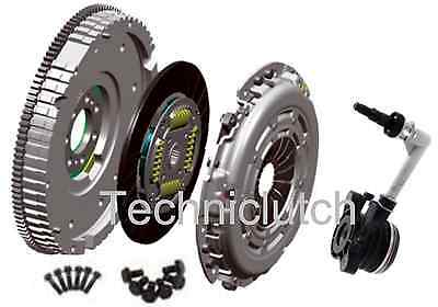 RENAULT GRAND SCENIC 1.9 DCI DUAL - SINGLE MASS FLYWHEEL AND CLUTCH KIT WITH CSC