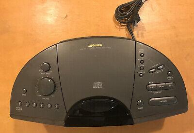 Sony ICF-CD803 Dream Machine Stereo CD Player AM/FM Radio Alarm Clock - Tested
