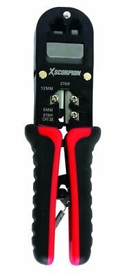 Telephone Data Communication Network Cable Crimper Stipper Cutter Hand Tool