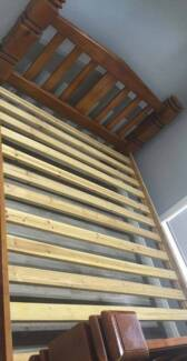 Queen bed frame Timber