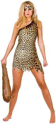 Hot Cavegirl Höhlenfrau Kostüm NEU - Damen Karneval Fasching Verkleidung Kostüm