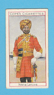 MILITARY  -  COPE  BROS.  -  RARE EMINENT BRITISH OFFICERS CARD NO.  25  -  1908