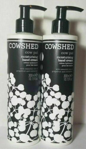 2 New Cowshed cow Pat Moisturising Hand Cream Grapefuit Coriander Oils 10.15 oz