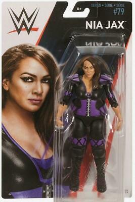 Mattel WWE Basic Series 79 Nia Jax ( Card not mint )