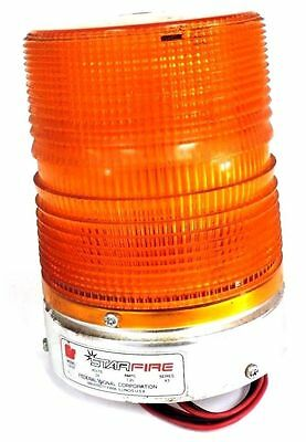 Federal Signal 131st Amber Strobe Light Series A3 24volts 1.25amps 131st-24