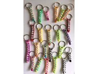 PERSONNISED KEYRINGS ANY NAME ANY COLOUR YOU CHOOSE