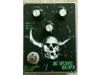 Fuzz pedal Nine of Swords 3D Astro Beast