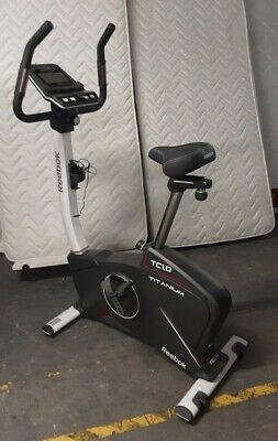 REEBOK Titanium TC1.0 Electric Upright Exercise Bike Cardio Machine - CIS S90