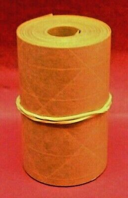 25-foot Reinforced Paper Tape Roll Gummed Brown Kraft Shipping Packaging Sealing