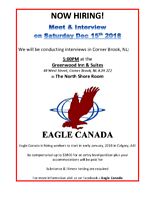 Eagle is hiring! Great money for entry level job!