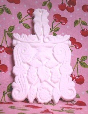 Rectangular Trivet (K44) Ceramic Bisque Ready to Paint