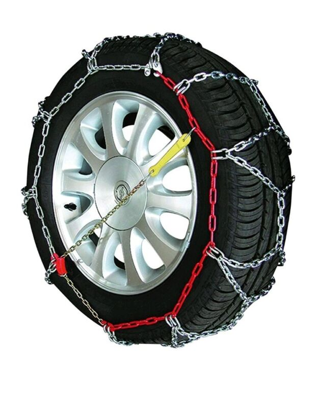 MP+Essentials+Sumex+Husky+Winter+Professional+16mm+4WD+Snow+Chains+for+20%22...