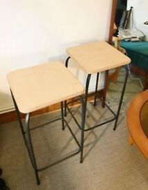 Two bar kitchen stools Cox and Cox need to go TODAY!!