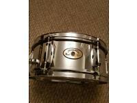 Pearl 12x5 Firecracker Steel Snare Drum