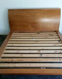 Solid Timber Queen Size Bed