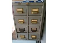 RONEO Card Index / Mini Filing Cabinet