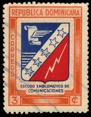 DOMINICAN REPUBLIC 417 (Mi456) - Emblem of Communications (pa78261)