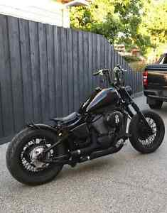 CUSTOM BUILT BOBBER - HONDA SHADOW 750 - MOTORCYCLE - NOT HARLEY Albion Brimbank Area Preview