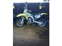 Suzuki 250 rmz 2009 mx motocross bike dirt