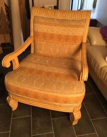 Beautiful large Armchair like new