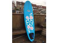 Minimal surf board
