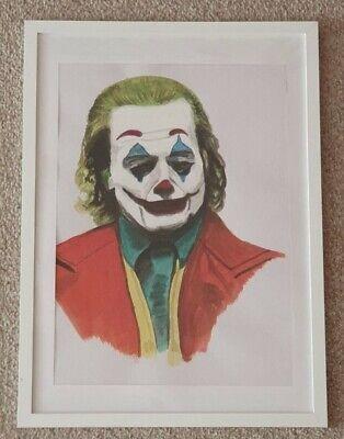 Joker portrait Original painting