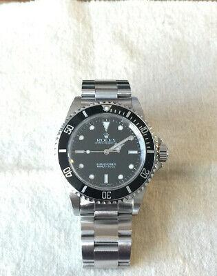 Rolex Submariner14060M Steel Black Dial Dive 40mm No-Date