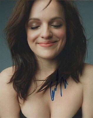 Elisabeth Moss Sexy Autographed Signed 8X10 Photo Coa  1