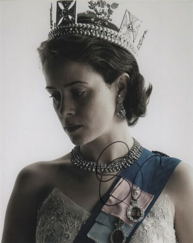 Claire Foy The Crown Autographed Signed 8x10 Photo COA #O1
