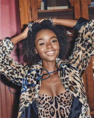 "Ashleigh Murray "" Josie "" Riverdale Autographed Signed 8x10 Photo COA #5"
