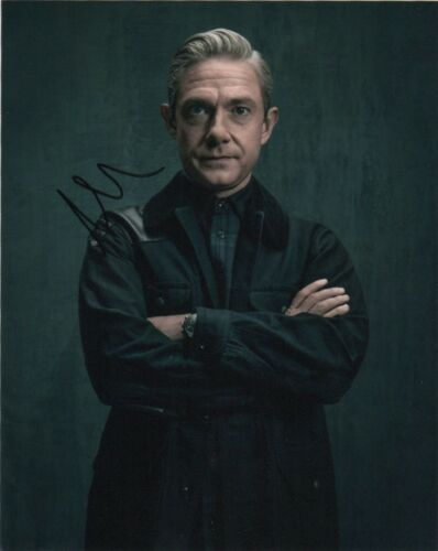 Martin Freeman Sherlock Autographed Signed 8x10 Photo COA #5