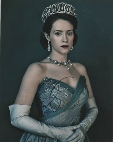 Claire Foy The Crown Autographed Signed 8x10 Photo COA #O11