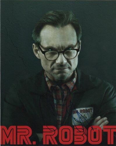 Christian Slater Mr Robot Autographed Signed 8x10 Photo COA #3