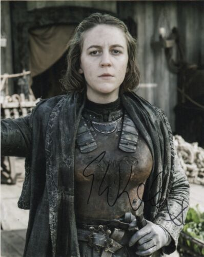 Gemma Whelan Game of Thrones Autographed Signed 8x10 Photo COA M2