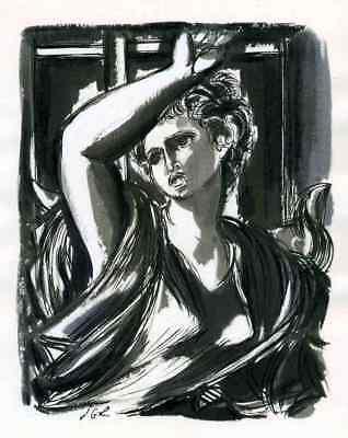 VERGILs AENEIS Epirus Andromache Hermione Orest Jacques GRANGE 2 GRISAILLEN 1947